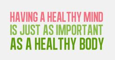 Be Healthy all around