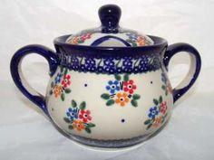 ceramika Bolesławiec-  cukiernica vol. 0,3l