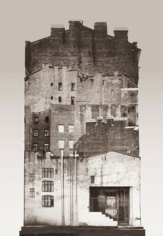 Architecture et collage par Anastasia Savinova Collage Architecture, Architecture Drawings, Collage Kunst, Collage Art, City Collage, Collage Design, Photomontage, Anastasia, Photo D'architecture