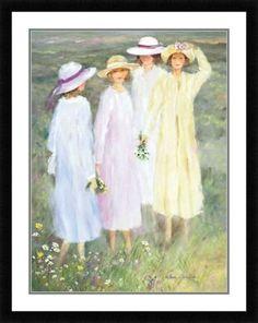"""Summer Ladies"" Helen Leveillee"