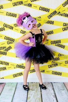 Purple Minion...costume tutu set birthday by TheBerryNiceBoutique, $69.99
