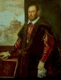 Venice, The Republic of Venice  Jacopo Robusti Tintoretto, 1564-70: A Gentleman of the Emo Family