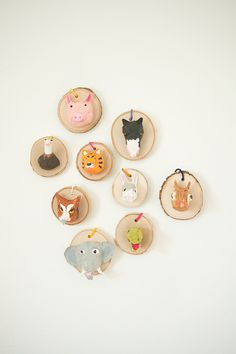 Faux Taxidermy Ornaments…