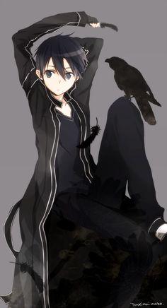 Kirito (Sword Art Online)Illustration by うさこ@ついった