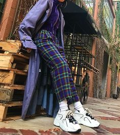 ˗ˏˋ I s a b e l l a ˊˎ˗ New Teen Fashion, Look Fashion, 90s Fashion, Fashion Outfits, Womens Fashion, Fashion Trends, Tartan, Looks Cool, Passion For Fashion