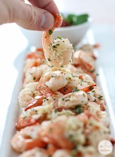 Roasted Parmesan Garlic Shrimp