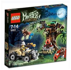 LEGO Set 9463: Werewolf. New Monster Fighters LEGO theme coming soon..!