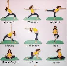 Yoga posses for pregnant women