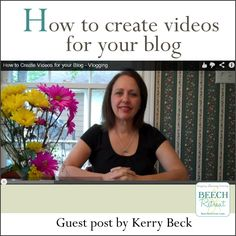 How to create videos for your blog: @Bianca Locsin Retreat