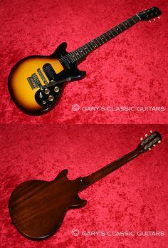 1962 Gibson Melody Maker D, Sunburst, Double cutaway, Two Pickups, Vibrato, EC+, OSSC, $2,995
