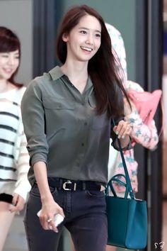 140604 yoona's airport fashion