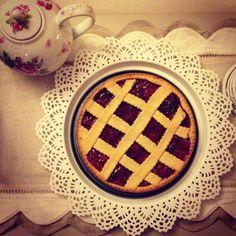 Crostata con marmellata di fragole by Profumodilavanda