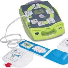 Zoll AED Plus Defibrillator - guide a responder through the entire process of providing assistance to a potential cardiac victim. The Zoll Plus AED guide responder thru responsiveness then moves them step by step through performing an ABC (Airway, Breathing, Circulation) assessment, to providing CPR, to administering defibrillation if necessary. #defibrillator #AED #Zoll
