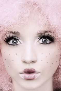 Doll 01 by ~DavidBenoliel on deviantART...maybe purple or blue hair instead of pink?