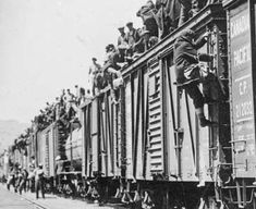 Photo: Strikers from unemployment relief camps established by the federal government in British Columbia and Ontario on their way to Ottawa to complain about camp conditions, 1935 Great Depression, Canadian People, Dust Bowl, Canadian History, Primary Sources, Powerful Images, History Projects, Find A Job, Federal