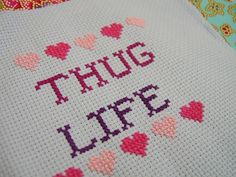The Luxury Spot » Art ENTERTAINMENT HOME AND REAL ESTATE Interiors Funny Cross Stitching