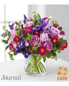 Here is a gorgeous arrangement from the ladies home journal magazine named editors choice...