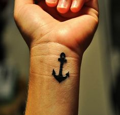 """Why is this considered a typical """"girl"""" tattoo. Pretty sure this is a guy's wrist. Brix"""