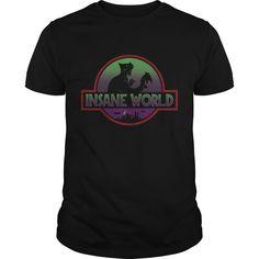 Get yours beautiful Insane World Gift Shirt Shirts & Hoodies.  #gift, #idea, #photo, #image, #hoodie, #shirt, #christmas