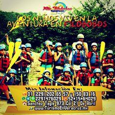 Los #niños viven la #aventura en #filobobos http://www.filobobos.com #Veracruz