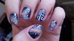 nailsandriffs: Doctor Who Halloween!