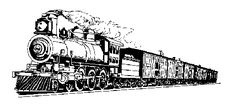 Steam train clip art crafts trains clip art and - ClipartCow