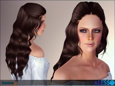 Curly hair for females from teen to elder  Found in TSR Category 'Female Sims 3 Hairstyles'