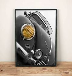 POSTER FUSCA OLD - 30X40 CM