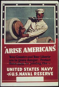 WW2 American recruiting poster