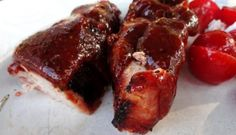 Grilled Boneless Country Style Pork Ribs with Simple Rub