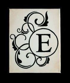 Georgie Girl Design: Monogram Art
