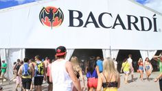 The Bacardi Tent at Fest