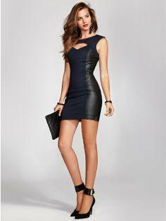 Amazon.com: GUESS Women's Jade Bodycon Dress: Clothing