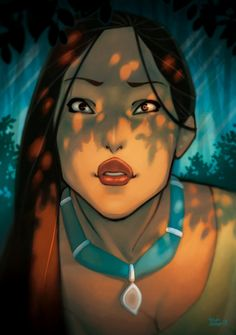 Pocahontas by Chiisa on DeviantArt