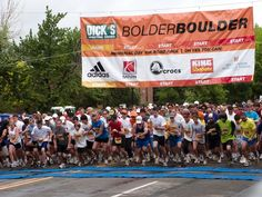 Bolder Boulder. Memorial Day Weekend! << kicking myself for not just doing it! Next year is definitely happening!!