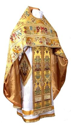 Clergy vestments: Russian Priest clergy vestment set BG6 - Istok Church Supplies