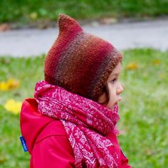kostenlose Anleitung / Strickanleitung für eine Zwergenmütze für Kinder; Pixiehat, pattern, wool, knitting, stricken, Kinder, kostenlos
