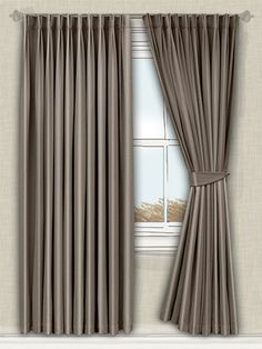 full and sumptuous, these curtains will fill your room with a comforting warmth, creating the perfect atmosphere to relax in... #faux #silk #curtain