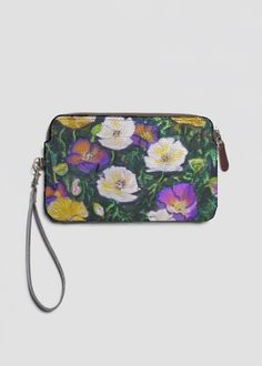 Statement Clutch - Orchids by VIDA VIDA 34VEDuHN