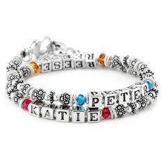 fefc99617 Elisa Ilana Peter Katie Double Wrap Style Mother's Bracelet #Mother  #GiftIdea #MotherGift #