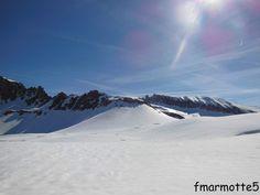 Rochers des Enclaves, Ski de rando en Beaufortain.