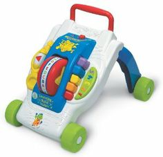 LeapFrog Learning Band™ Walker by LeapFrog. $22.00. 9 months and up. From the Manufacturer                As seen in Child magazine's 'Best Toy Awards' issue! Baby's steps set the learning in motion! Push the walker and watch the red drum spin and the colorful organ pipes move up and down all in time to a marching band ABC song. Switch to music mode and hear a fun walk-along song that encourages baby's first steps. This walker can also be converted into a sit-at learning...