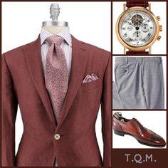 BUSINESS STYLE: Zegna(Sportcoat)-Breguet(Watch)-Louis Raphael(Slacks)-G&G(Shoes)