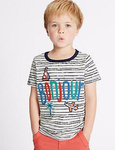2018 New Summer Boys Striped Letters Bonjour Embroidery Knitted T shirts Cotton Tee Tops Infant Toddler Baby Kids clothes . 1st Birthday Shirts, Cartoon Outfits, Summer Boy, Baby Kids Clothes, Boys T Shirts, Cotton Tee, Kids Fashion, Mens Tops, Teen Boys
