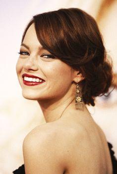 beautiful Emma Stone