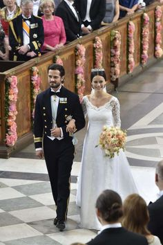 The Wedding of Prince Carl Philip of Sweden and Sofia Hellqvist (6/13/
