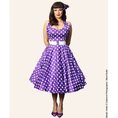 purple bridesmaid dresses | ... dress 8247 50s vintage black swing ...