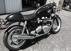 I want to put a thruxton seat on the back of a speed triple.