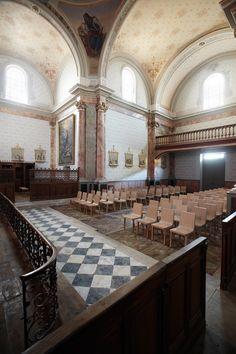 Silla Emea de Alki entre la arquitectura religiosa del siglo XIX.  La Chapelle du Séminaire, Larresoro.