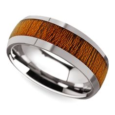 Shop our Koa Collection of men's wedding rings which feature wood inlays of reclaimed and reused red oak, ash wood, black walnut and koa wood. Unusual Wedding Rings, Most Beautiful Engagement Rings, Tungsten Mens Rings, Tungsten Wedding Bands, Wood Rings, Rings For Men, Red Oak, Wedding Men, Wedding Ideas